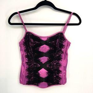 Victoria Secrets Purple Lace Lingerie Top